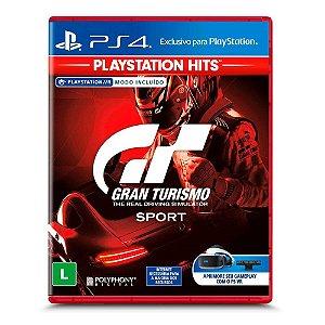 Jogo Gran Turismo Sport - Playstation Hits - PS4