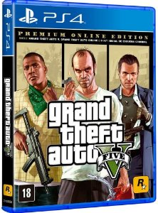 Jogo Grand Theft Auto V - Premium Edition - PS4