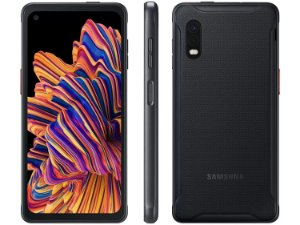 "Smartphone Samsung Galaxy XCover Pro 64GB Preto 4G - Octa-Core 4GB RAM 6,3"" Câm. Dupla + Selfie 13MP"