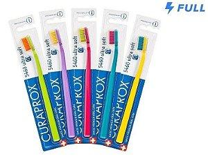 Escova Dental Curaprox 5460 Ultra Soft - Cores Sortidas