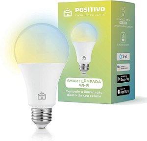 Smart Lâmpada Wi-Fi, Positivo Casa Inteligente, 806 lúmens, controle de temperatura de cor - Bivolt