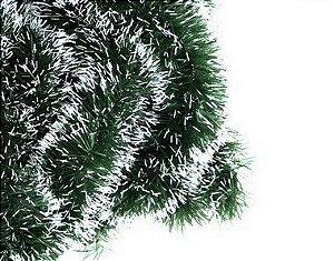 Festão Nevado  Tiras Decoração Natal - 2m