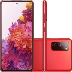 "Smartphone Samsung Galaxy S20 Fe Octa-Core 2.73GHz Dual Chip Wi-Fi 4G Tela 6.5"" Câmera Tripla Traseira de 12MP Ultra Wide + 12MP"