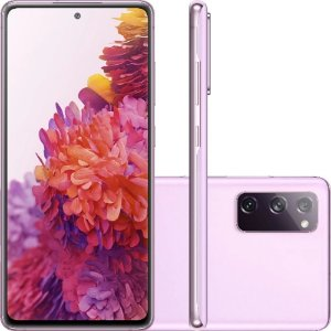 "Smartphone Samsung Galaxy S20 Fe Octa-Core 2.73GHz Dual Chip Wi-Fi 4G Tela 6.5"" Câmera Tripla Traseira de 12MP Ultra Wide + 12MP OIS + 8MP Telephoto - Cloud Lavender"