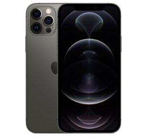 "iPhone 12 Pro Max Grafite iOS 5G Wi-Fi Tela 6.7"" Câmera - 12MP + 12MP + 12MP + Sensor LiDAR - Apple"