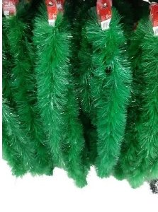 Festão Para Arvore De Natal Verde - 2m