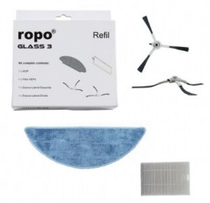 Kit Refil Ropo Glass 3