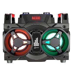 Mini System Lenoxx MS8600 com Bluetooth, Rádio FM, Micro SD, USB, Função Karaokê - 150W