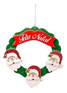 Guirlanda Feliz Natal/ Papai Noel