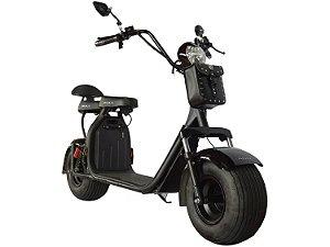 Scooter Elétrica 1000W Preta Bull Motors - Ciclo City Veloce