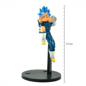 FIGURE DRAGON BALL SUPER - VEGETA SUPER SAYAJIN BLUE - TAG FIGHTERS