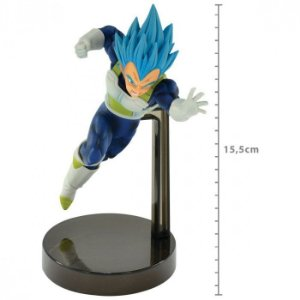 FIGURE DRAGON BALL SUPER - VEGETA SUPER SAYAJIN BLUE - Z BATTLE