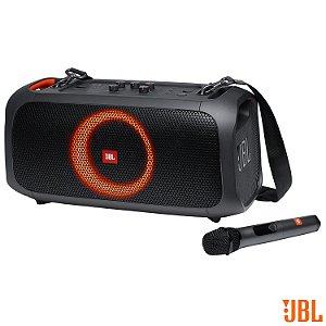 Caixa Bluetooth JBL Partybox On The Go com Potência de 50W - JBLPARTYBOXGO