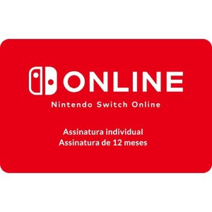 Gift Card Digital Nintendo Switch On 12 meses