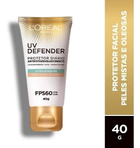 Protetor L'oréal Paris Uv Defender Com Cor Clara