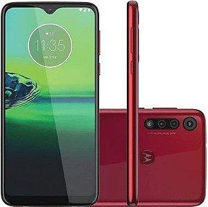 USADO: Smartphone Motorola Moto G8  64gb - Vermelho