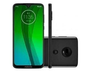 USADO: Smartphone Motorola Moto G7 PLUS 64gb - Preto (VITRINE)