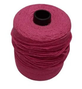 USADO: Rolo de barbante cor de rosa - 1,100kg