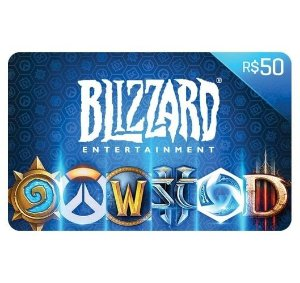 Gift Card Digital Blizzard - R$ 50