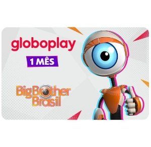 Gift Card Digital Globoplay 1 mês