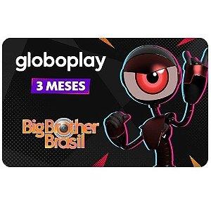 Gift Card Digital Globoplay 3 meses