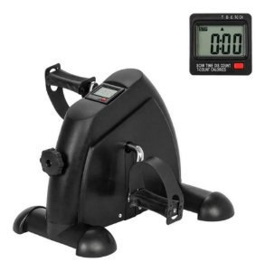 Mini Bike Ergométrica Cicloergômetro Pedalinho Monitor Lcd