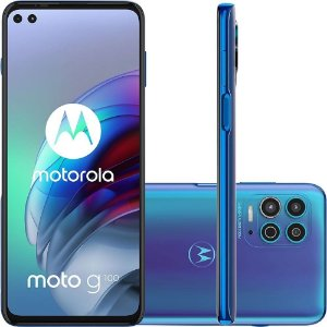 Smartphone Motorola G100 256GB 5G Wi-Fi Tela 6.7'' Dual Chip 12GB RAM Câmera Tripla + Selfie 16MP + 8MP