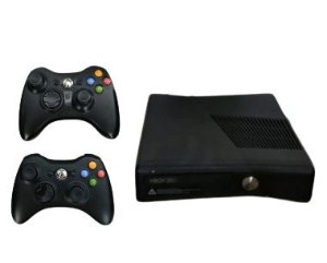 USADO: Xbox 360 + Hd externo de 250gb + 2 controles wireless