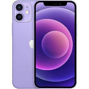 """iPhone 12 Mini Apple (64GB) Roxo tela 5,4"""" Câmera dupla 12MP iOS"""