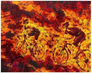 Bruno Portella - Fire cycling 3