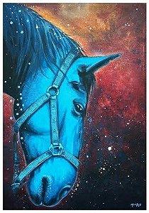 Mônico Reis - Cavalo azul