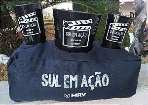 Almofada Pipoca Personalizada acompanha 2 copos
