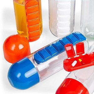 Squeeze Plástico 700ml Porta Comprimido Personalizado