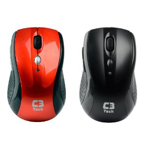 Mouse Optico C3 tech S/fio M-w012