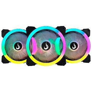 Kit Fan RiseMode RGB Energy Smart (3 Fans)