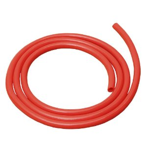 Mangueira Siliconada Vermelha Alseye ID 3/8 - 1 metro