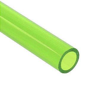 Water Cooler Tubo Rígido Semi Transparente Verde Biksky  OD 14mm