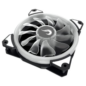 Fan Rise 120mm Galaxy G1 S-led Branco