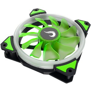 Fan Rise 120mm Galaxy G1 S-led Verde