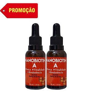 2 NANOBIOTIN A - FORÇA PARA CABELOS E UNHAS