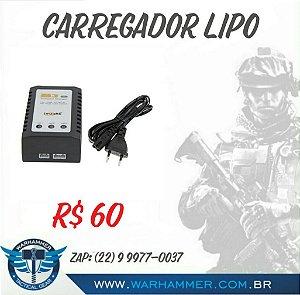 Carregador/balanceador P/ bateria LIPO
