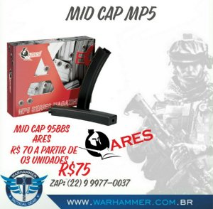 Mid Cap  90 bbs MP5 Ares