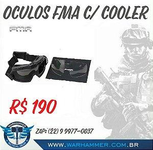 Óculos FMA c/ cooler