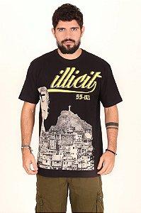 T-Shirt RJ Laje Illicit 55 - Preta