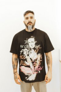 T-Shirt Rio Fuckin de Janeiro Illicit 55 - Preta