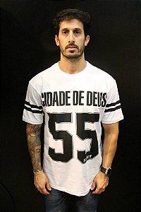T-Shirt Cidade de Deus Illicit 55 - Branca