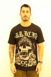 T-Shirt Bandana Illicit 55 - Preta