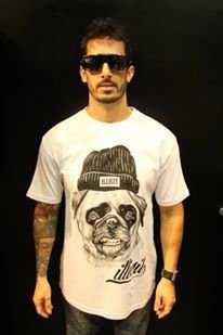 T-Shirt Dog Illicit 55 - Branca