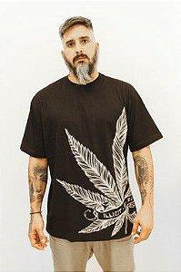 T-Shirt Marijuana Illicit 55 - Preta