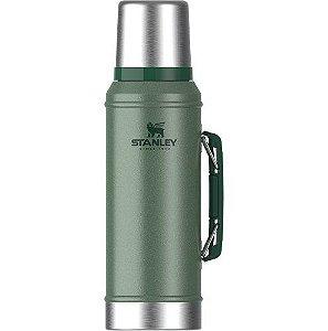 Garrafa Térmica Classic 950ml Verde - STANLEY